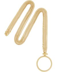 Chloé - Carly Gold-Tone Necklace - Lyst