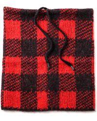 Rag & Bone Cammie Snood Royal Red - Lyst