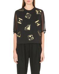 3.1 Phillip Lim Gems T-shirt - Lyst