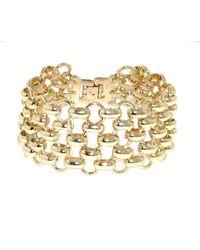 1928 - Mesh Link Bracelet - Lyst