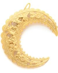 Dauphines of New York - Under The Moonlight Barrette - Gold - Lyst