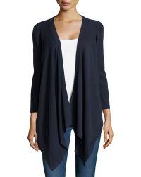 Donna Karan New York 34-sleeve Draped Cozy - Lyst