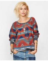 Denim & Supply Ralph Lauren Southwestern Intarsia-Knit Sweater - Lyst