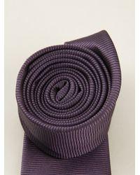 Etro Pointed Tie - Lyst