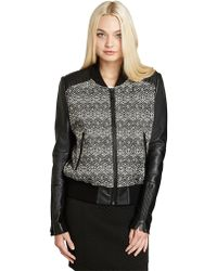 BCBGeneration Abstract Printed Jacket - Lyst