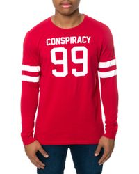 Wesc The Rugby Ls Tee - Lyst