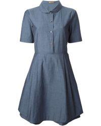 Peter Jensen Double Layer Dress - Lyst