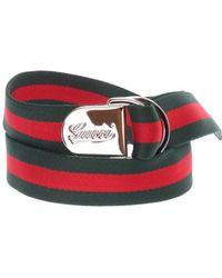 Gucci Red Belt - Lyst