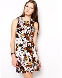 Antipodium Beagle Shift Dress in Hounds Of Love Print - Lyst