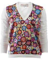 Emilio Pucci | Zinnie Print Sweater | Lyst