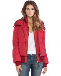 Mackage Romane Jacket with Fur - Lyst