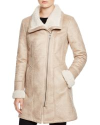 7 For All Mankind - Faux Shearling Coat - Lyst