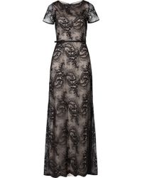 Catherine Deane Floor-Length Lace Gown - Lyst