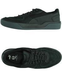 Alexander McQueen x Puma | Nubuck and Neoprene Low-Top Sneakers | Lyst