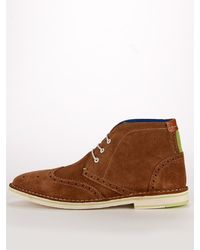Ted Baker Kidde Lace Up Boots - Lyst