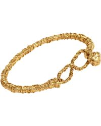 Aurelie Bidermann Wrangler Bracelet gold - Lyst