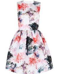 RED Valentino Toile De Jouy Printed Dress - Lyst