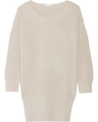Chloé Iconic Ribbed Cashmere Sweater - Lyst