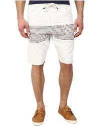 Howe - Backside Stripe Shorts - Lyst