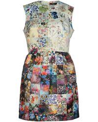 Markus Lupfer Short Dress - Lyst