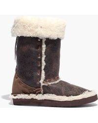Madewell - Chamula™ Sheep Boots - Lyst
