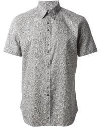 PS by Paul Smith Printed Shirt - Lyst