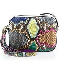 Gucci | Soho Python Disco Bag | Lyst