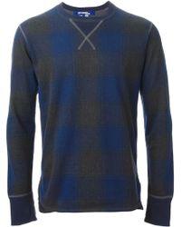 Junya Watanabe Checked Sweatshirt - Lyst