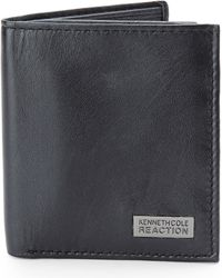Kenneth Cole Reaction Black Slim Square Passcase - Lyst