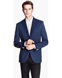H&M Textured Weave Jacket - Lyst