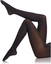 Wolford Carrie Tights black - Lyst