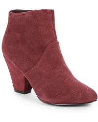 DV by Dolce Vita Gila Suede Ankle Boots - Lyst
