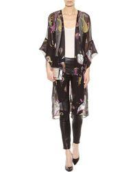 Vika Gazinskaya - Mytheresa.Com Exclusive Embroidered Silk Chiffon Jacket - Lyst