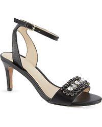 Nine West Jenetter Floral Heeled Sandals - For Women - Lyst