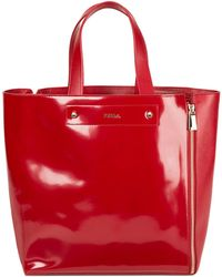 Furla Musa Leather Medium Zip Tote Bag - Lyst