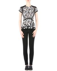 Yigal Azrouël - Intertwined Vines Printed Top - Lyst