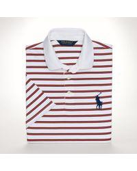 Polo Ralph Lauren Striped Lisle Performance Polo - Lyst