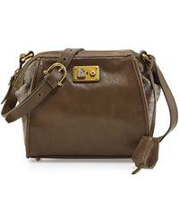Etienne Aigner Epic Leather Shoulder Bag - Lyst