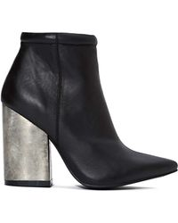 Nasty Gal Jeffrey Campbell Truly Ankle Boot - Lyst