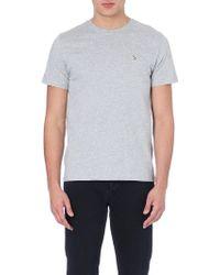 Paul Smith Zebra-logo Cotton-jersey T-shirt - Lyst