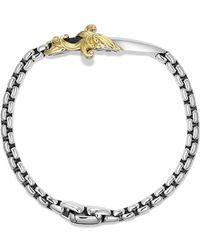 David Yurman Waves Dagger Bracelet with Gold - Lyst