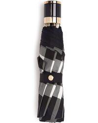 Burberry Prorsum - Check-print Collapsible Umbrella - Lyst