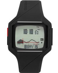 Quiksilver - 'the Addictive 2.0' Silicone Strap Watch - Lyst