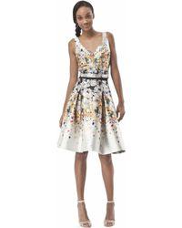Noir Sachin & Babi Posey Skirt silver - Lyst