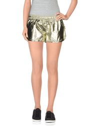 Haus By Golden Goose Deluxe Brand Shorts yellow - Lyst