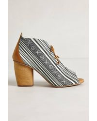 J SHOES | Tapestry Booties | Lyst