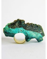Jade Mellor Island Strata Double Ring - Lyst