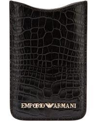 Emporio Armani - Iphone 4 Case - Lyst