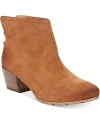 Kenneth Cole Reaction Women'S Pil Age Booties - Lyst