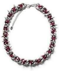 Zara Combined Chain Necklace - Lyst